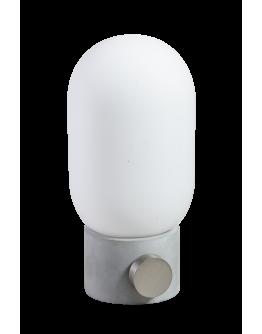 ETH Minion Tafellamp | Grijs/Beton | Opaal Glas